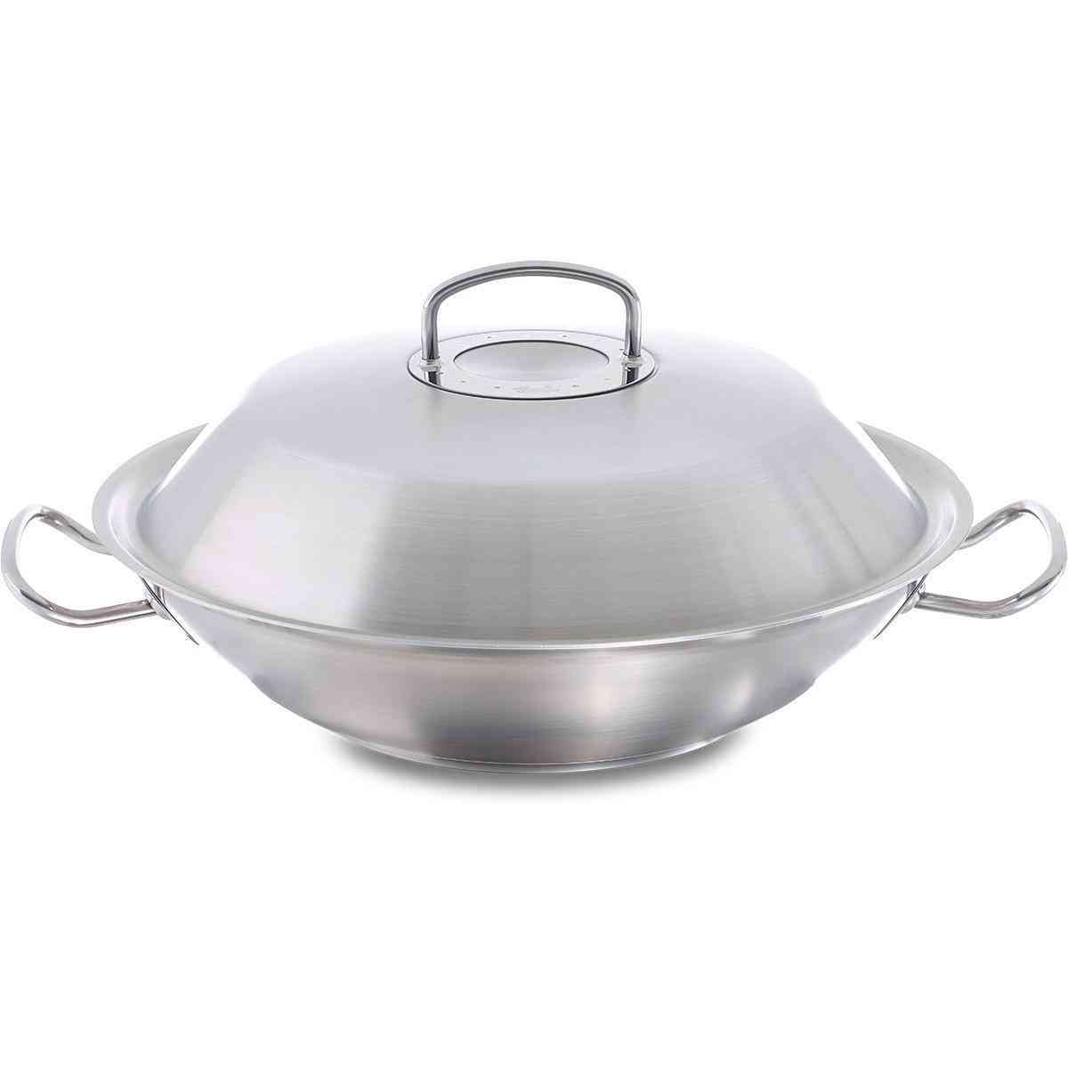 original-profi collection wok 30 cm with metal lid