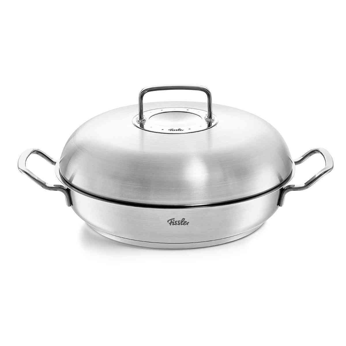 pure-profi collection Roasting/ Serving Pan with Domed Lid, 11 Inch