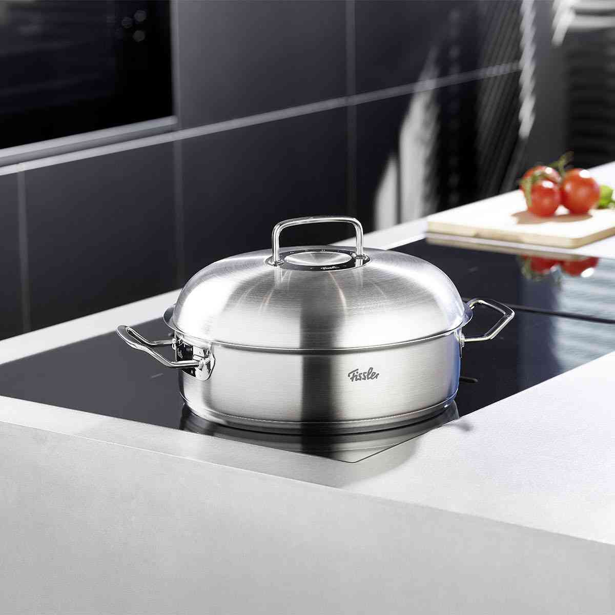 pure-profi collection Dutch Oven/Roaster with High Domed Lid, 5.1 Quart