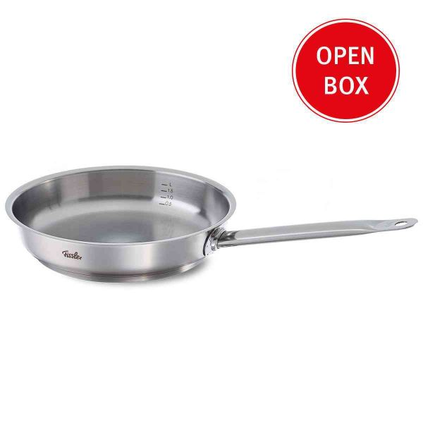 Open Box - original-profi collection® Stainless Steel Frying Pan, 11 Inch