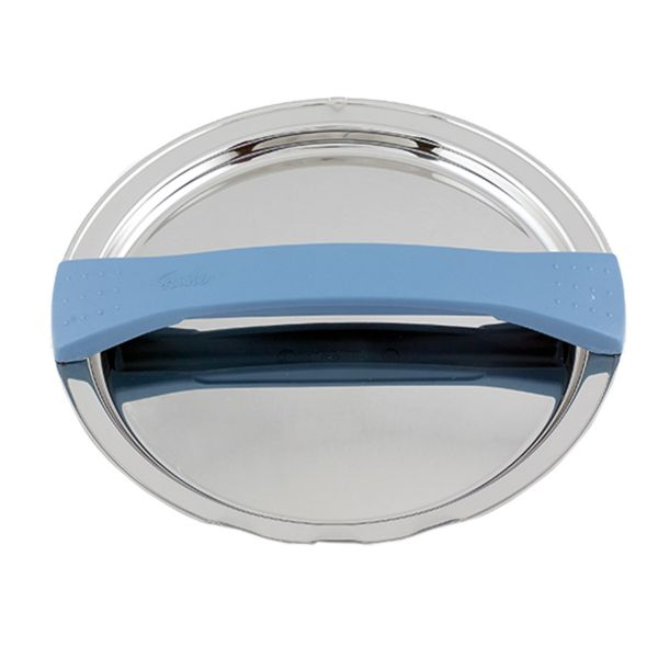 magic line metal lid blue for pot with 20 cm
