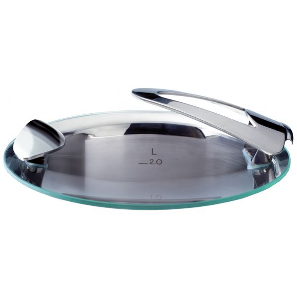 solea glass lid for pot with 20 cm