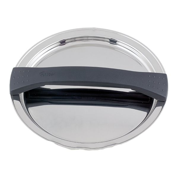 magic line metal lid black for pot with 24 cm