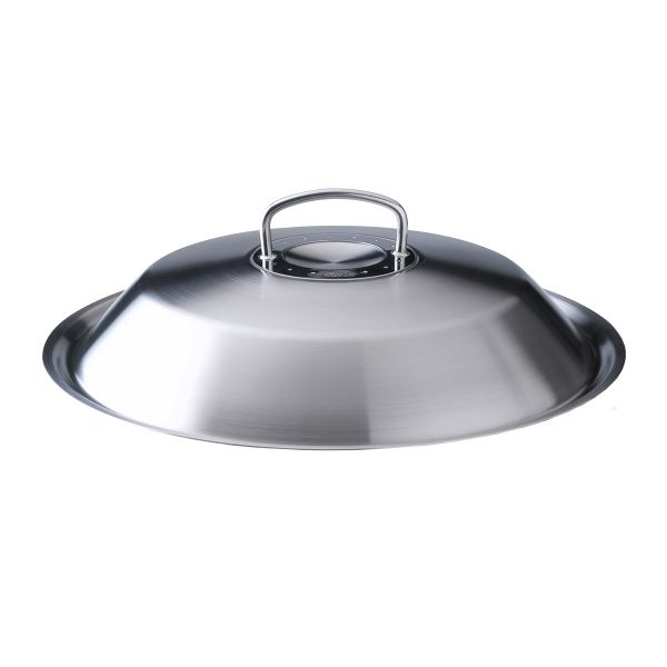 original-profi collection metal lid wok 30 cm