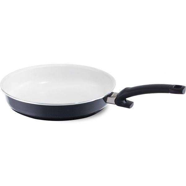 crispy ceramic white pan 9.4in