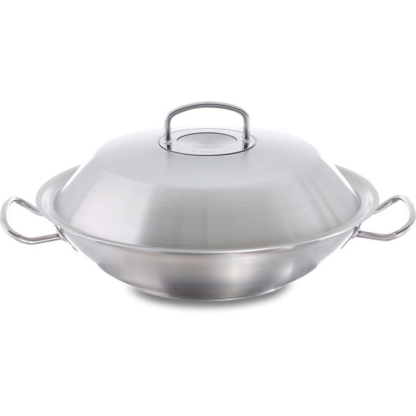 original-profi collection wok 35 cm with metal lid