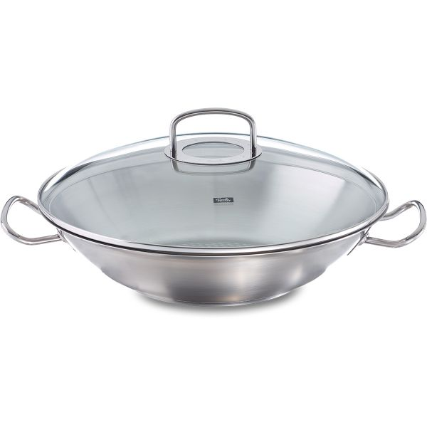 original-profi collection wok 35 cm with glass lid