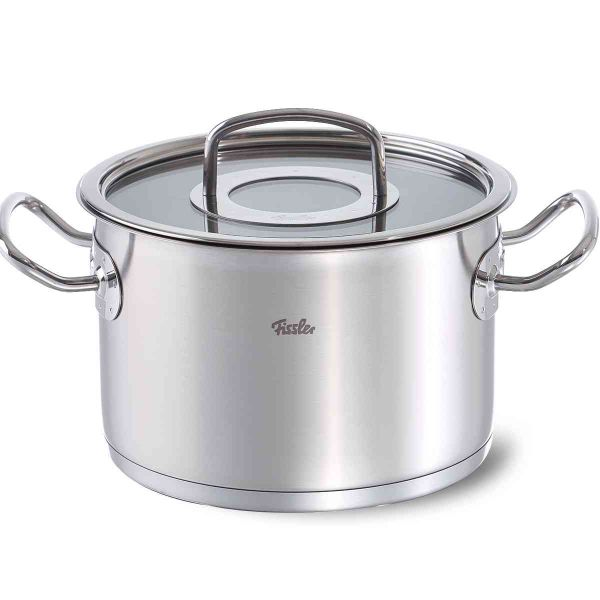 original-profi collection stew pot with glass lid 20 cm