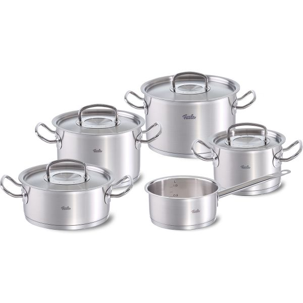 original-profi collection 5-piece set with metal lids
