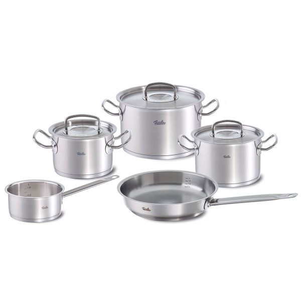 original-profi collection 5-piece set with pan and saucepan
