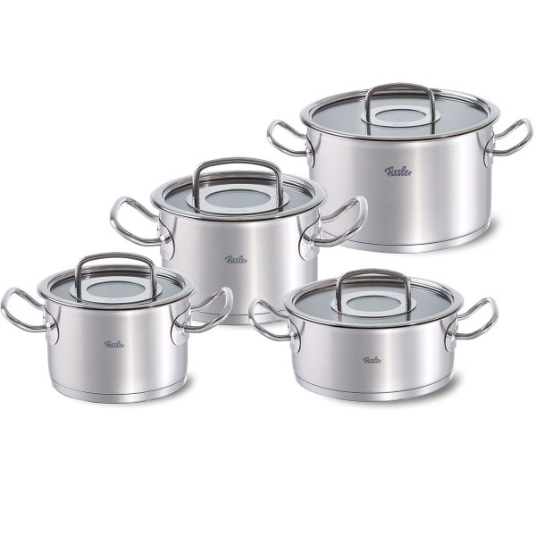 original-profi collection 4-piece set with glass lid