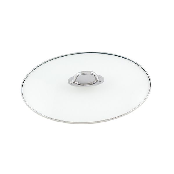 stainless steel roaster glass lid 38 cm