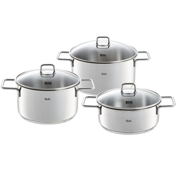 munich 6-piece Stainless-steel Cookware Set