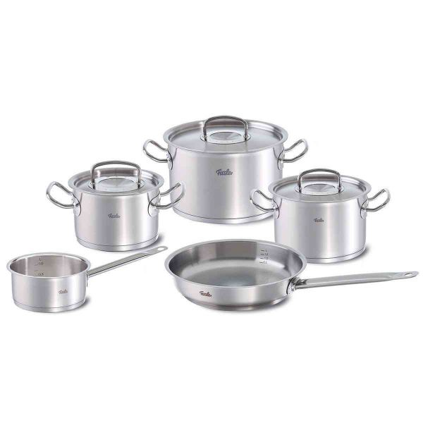 original-profi collection® 8-Piece Stainless Steel Cookware Set