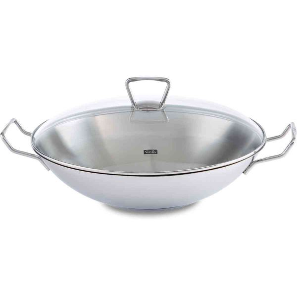kunming wok with glass lid 36 cm