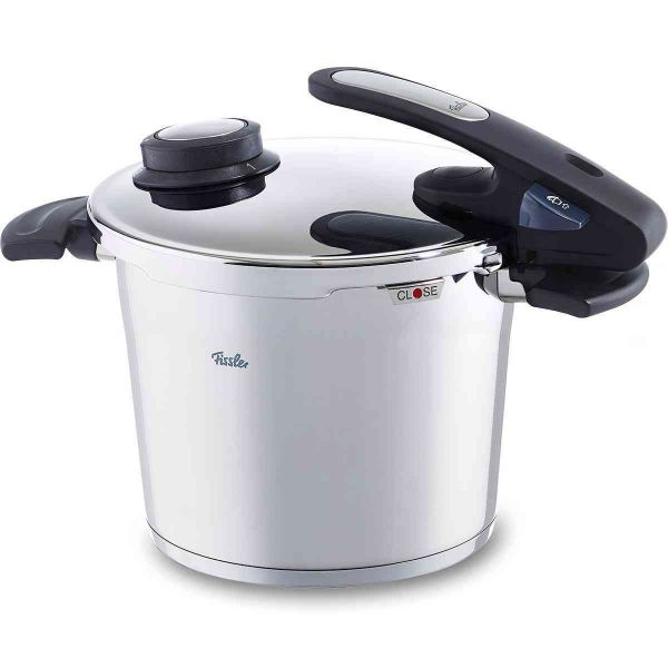 vitavit edition design pressure cooker 22 cm / 6 ltr. with inset