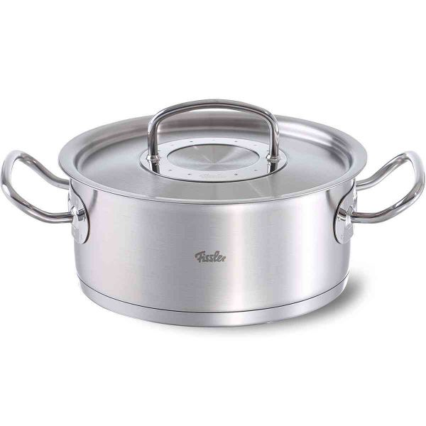 original-profi collection Stainless Steel Casserole with Lid, 4.9 Quart