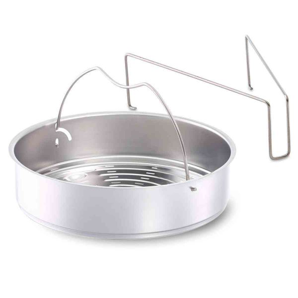 "Perforated Insert with Tripod for 10.25"" Pressure Cooker"