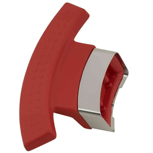 magic line side grip red for pot with 24 cm
