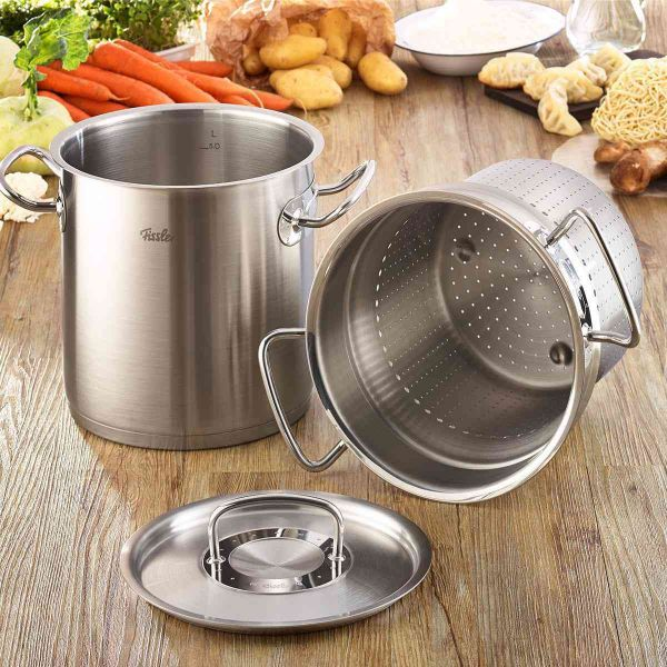 original-profi collection® Multipot with Steamer Insert and Lid, 6.3 Quart