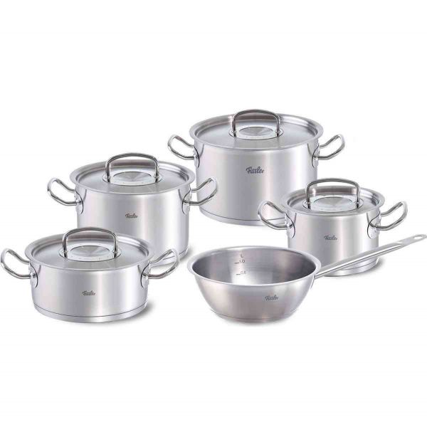 original-profi collection 5-piece set with conical pan