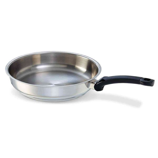 lübeck stainless steel frying pan 28 cm