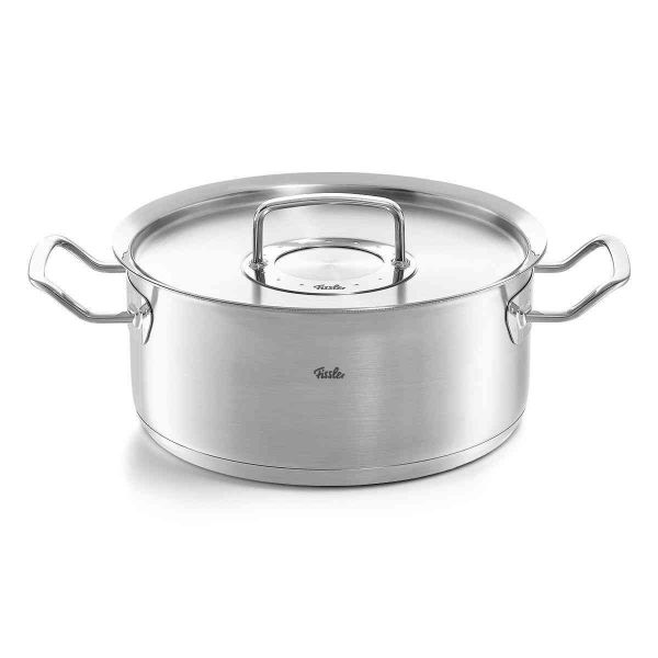 pure-profi collection Casserole with Metal Lid