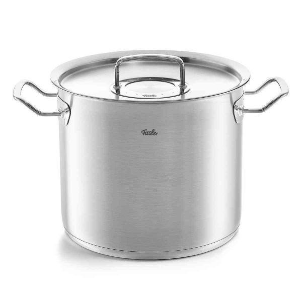 pure-profi collection Stock Pot with Lid, 9.6 Quart