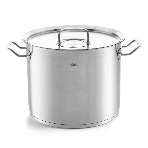 pure-profi collection Large Stock Pot with Lid, 14.8 Quart