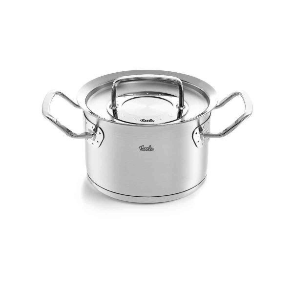 pure-profi collection stew pot with metal lid 6.3""