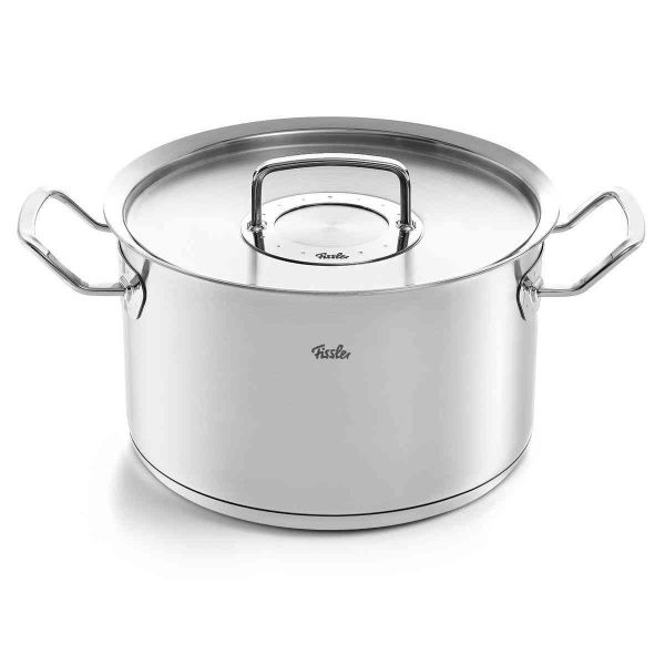 pure-profi collection Stock Pot with Lid, 6.7 Quart