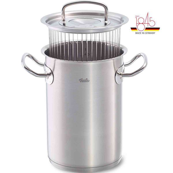 original-profi collection Asparagus/ Multi-Purpose Steamer Pot 6.3in 5qt