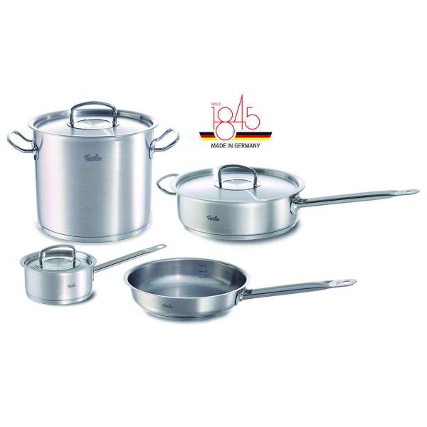 7-piece original-profi collection Stainless Steel Cookware Set