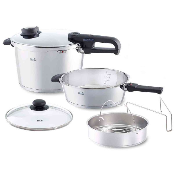 vitavit® premium 6-Piece Set: 8.5qt / 4.2qt Pressure Cookers