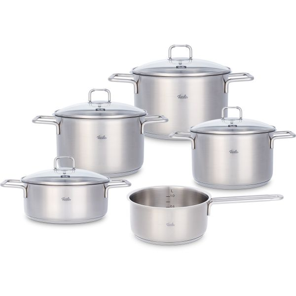 hamburg 5-piece set with glass lid