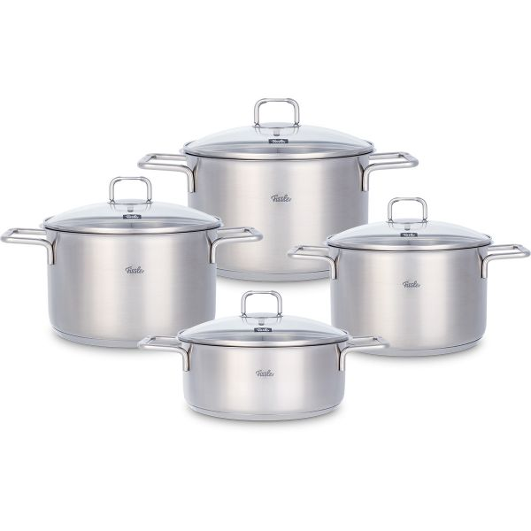 hamburg 4-piece set with glass lid
