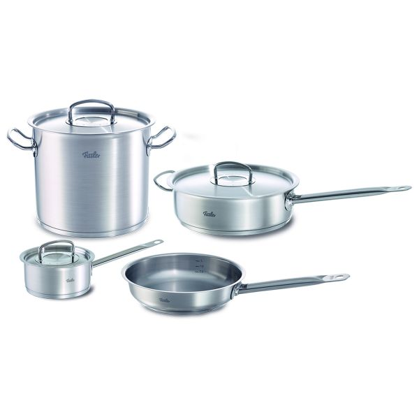 7-piece original-profi collection® Stainless Steel Cookware Set