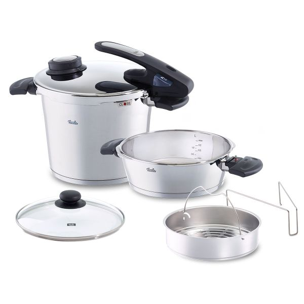 vitavit® edition design Pressure Cooker 2-Piece Set