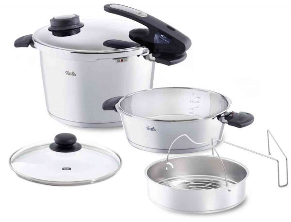Vitavit® Edition Design 8.5Qt Pressure Cooker and 4.2Qt Pressure Skillet Set