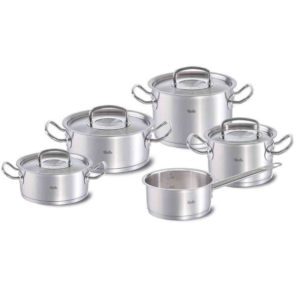 original-profi collection 5-piece pot set with saucepan