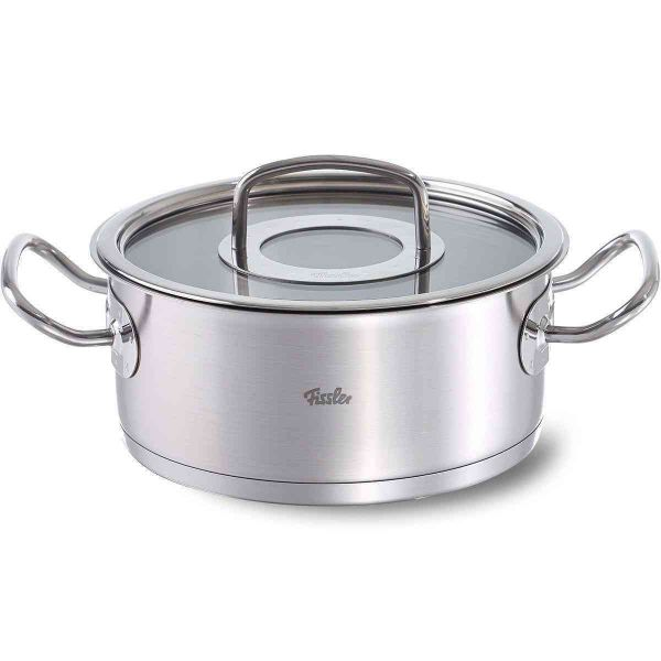 original-profi collection casserole with glass lid 24 cm